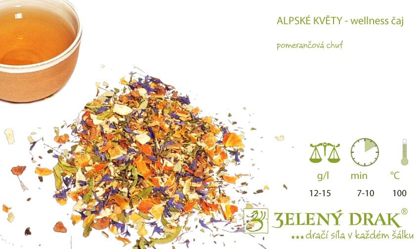ALPSKÉ KVĚTY - BIO wellness čaj