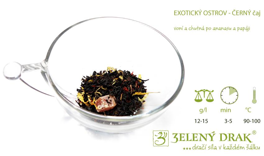 Exotický ostrov černý čaj - příprava